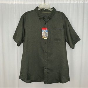 The North Face DWR Short Sleeve Collared Shirt L